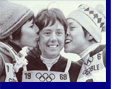 Olympic Victory Kiss